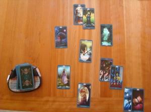 Interveiw Spread for The Book of Shadows -As Above Tarot