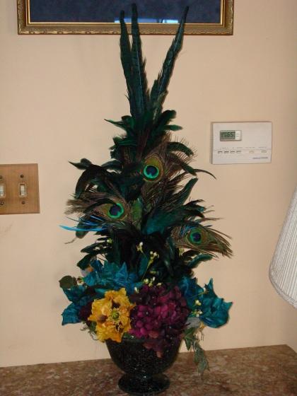 feathered arrangement