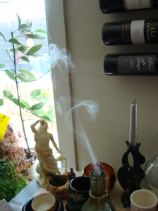 the mouth of my incense bottle