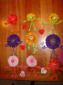 Flower Buddies...or maybe Flower Spirits?