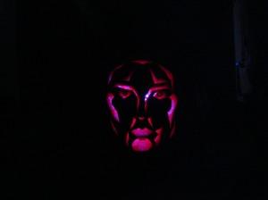 My son's pumpkin