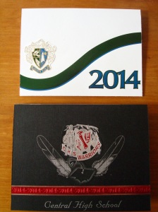 Graduation announcements remodeled into cards