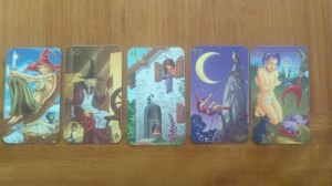 My homemade witchy lenormande deck